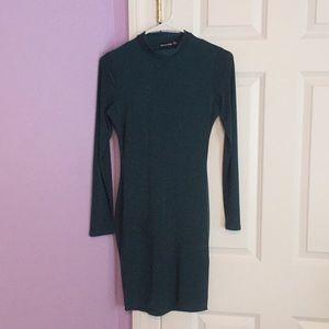 PrettyLittleThing Bodycon Long-sleeve Mini Dress
